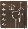 Wine of the Royals Metal Wall Art