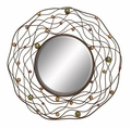 Wired Jewel Wall Mirror