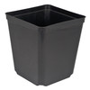 "5.5""  SQUARE ONE POT, BLK, 264/CS"