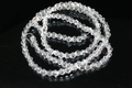 3mm Crystal Faceted Bicone Beads Approx.18""