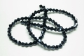 3mm Metallic Hematite Crystal Faceted Bicone Beads Approx.12""