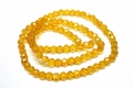 4mm Sun Crystal Faceted Round Beads Approx.15""