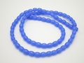4x6mm Reconstituted Chalcedony Rice Beads 15.5""