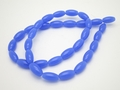 6x12mm Reconstituted Chalcedony Rice Beads 15.5""