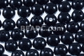 8mm Best Lustre Black Pearl Plastic Beads Approx.70pcs