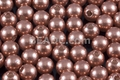 8mm Best Lustre Brown Pearl Plastic Beads Approx.70pcs