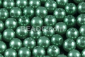 8mm Best Lustre Green Pearl Plastic Beads Approx.70pcs