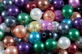 8mm Best Lustre Mix Pearl Plastic Beads Approx.70pcs