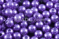 8mm Best Lustre Purple Pearl Plastic Beads Approx.70pcs