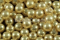 8mm Best Lustre Yellow Pearl Plastic Beads Approx.70pcs
