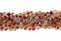 8mm Rainbow Jade Round Beads 15.5""