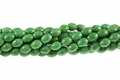 8x12mm Green Stabilized Turquoise Rice Beads 15.5""