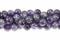 Amethyst (Natural) 14mm Round Beads 16""