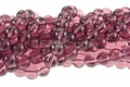 "Amethyst ""Quartz"" 8mm Round Beads 16"""