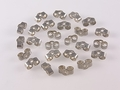 Antique Sterling (925) Silver 3x6mm Medium Earnut 10pcs.