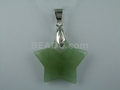 Aventurine 28mm Star With Hole Pendant