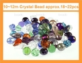 Big Pack 10-12mm Crystal Faceted Shape Beads approx.18~22pcs.