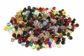 Big Pack 4mm Crystal Faceted Shape Beads approx.100~120pcs.
