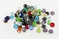 Big Pack 6mm Crystal Faceted Shape Beads approx.60~75pcs.