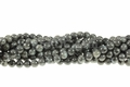 Black Labradorite 8mm Round Beads 15.5""