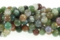 Blood Agate 8mm Round Beads 16""