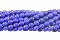 Blue Lapis Magnesite 6x8mm Rice Beads 16""