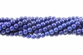 Blue Lapis Magnesite 8mm Round Beads 15.5""