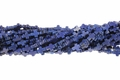 Blue Lapis Magnesite 8x10mm Cross Beads 15.5""