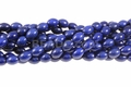 Blue Lapis Magnesite 8x12mm Rice Beads 15.5""