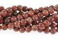 Brazil Agate 8mm Round Beads 16""