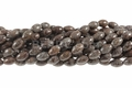 Brown Snowflake Obsidian 6x9mm Rice Beads 16""