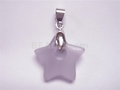 Cape Amethyst 20mm Star Dount Pendant