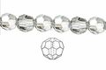 Clear Crystal 8mm Faceted Round Beads 72 pcs.
