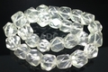 Clear Rock Crystal 13x16x12mm Faceted Nugget Beads 15.5""