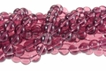 Composite Amethyst 8mm Round Beads 40pcs.