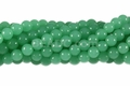 Composite Chrysoprase 8mm Round Beads 42pcs.