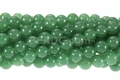 Dark Aventurine 8mm Round Beads 16""