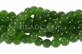 Dark B.C. Color Jade 8mm Round Beads 15.5""