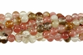 Fire Cherry Quartz 8mm Round Beads 16""