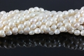 Freshwater Pearl 8-9mm Rice Beads 15-16""