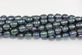 Freshwater Pearl Peacock Color 8-9mm Rice Beads 15-16""