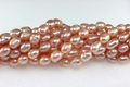 Freshwater Pearl Pink Color 7-8mm Rice Beads 15-16""