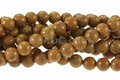 Gold Lace Agate 8mm Round Beads 16""