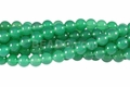 Green Agate 8mm Round Beads 16""