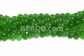 """Green Candy Jade 8mm Round Beads 16"""""""