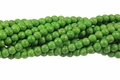 Green Magnesite 8mm Round Beads 15.5""