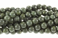 Green Spide Jasper 8mm Round Beads 16""