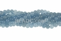 Larimar Jade 8mm Round Beads 16""