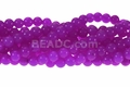 Light Fuchsia Jade 8mm Round Beads 15.5""