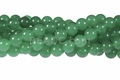 Light Green Candy 8mm Jade Round Beads 15.5""